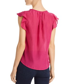 Velvet by Graham & Spencer - Jayne Ruffle-Sleeve Top