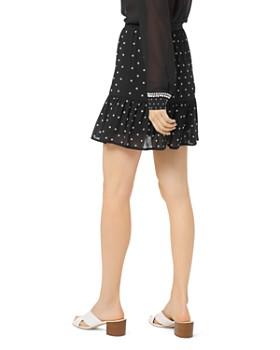 MICHAEL Michael Kors - Embellished Ruffled Mini Skirt