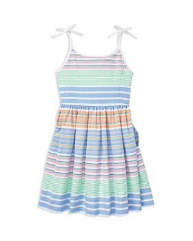 Ralph Lauren - Girls' Striped Oxford Dress - Little Kid
