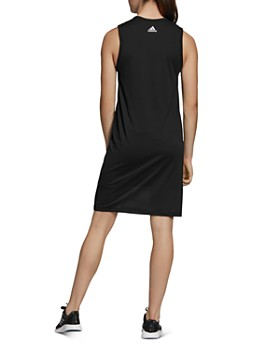 Adidas - Mesh-Overlay Logo Tank Dress