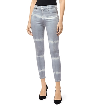 J Brand Coated Alana High-Rise Jeans in Georgetown Shockwave