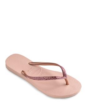havaianas - Women's Slim Glitter Flip-Flops