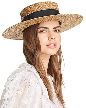 Eric Javits Gondolier Boater Hat