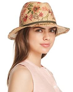 Raffaello Bettini - Floral Panama Hat