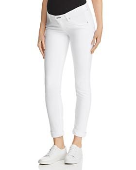 rag & bone - Dre Skinny Maternity Jeans in White