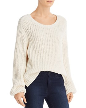 FRAME - Blouson-Sleeve Sweater