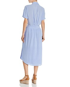 Joie - Chellie Pinstriped Shirt Dress