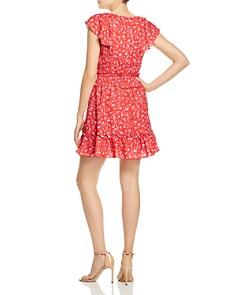 Parker - Celeste Floral Lace-Up Dress
