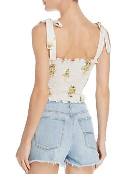 Show Me Your MuMu - Antoinette Floral Smocked Top