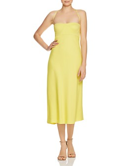 Michelle Mason - Bustier Midi Dress