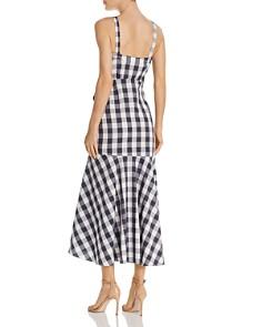 LIKELY - Minka Gingham Midi Dress