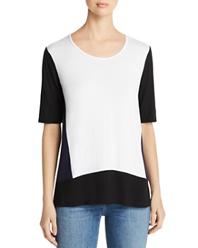 Kim & Cami - Color Block Tee