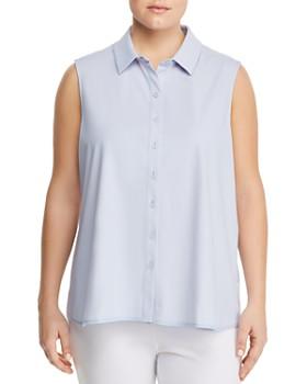 Lyssé Plus - June Sleeveless Shirt