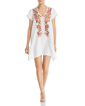 Johnny Was - Paola Embroidered Shift Dress