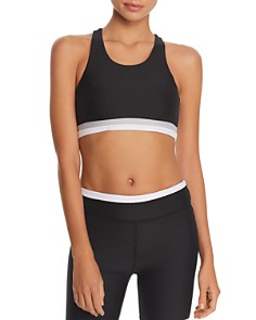 All Fenix - Laser Line Cutout Sports Bra