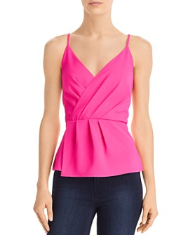 Do and Be - Pleated Peplum Camisole