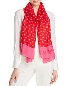 kate spade new york - Heartbeat Oblong Scarf