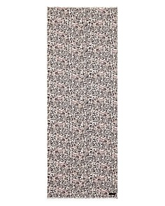 ALLSAINTS - Kara Leopard Print Oblong Scarf