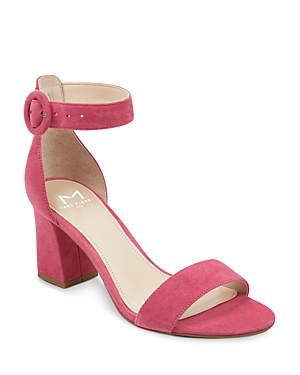 Marc Fisher Ltd. Women's Karlee Suede Block Heel Sandals