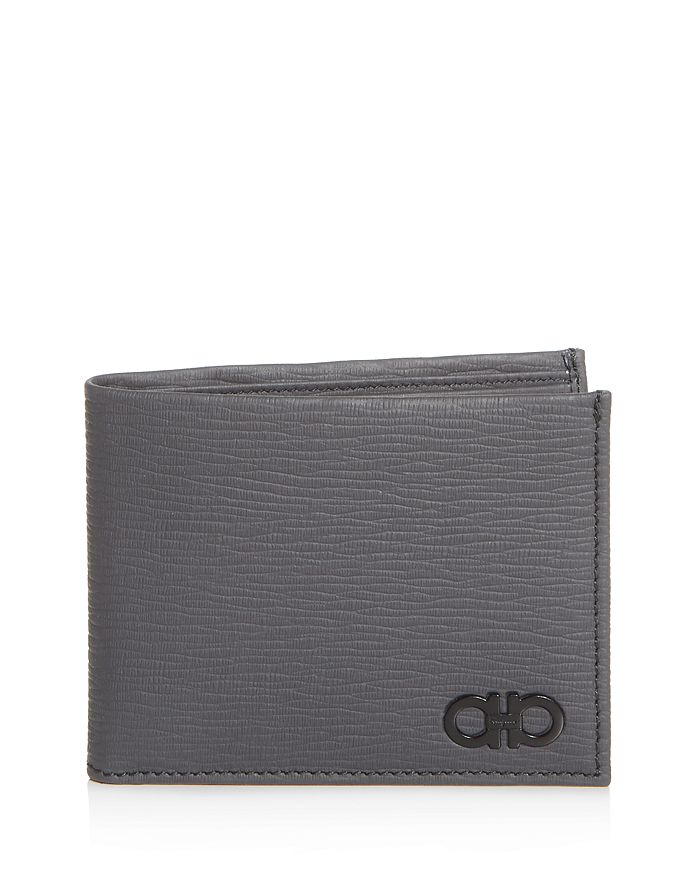 Salvatore Ferragamo - Revival Gancini Leather Bi-Fold Wallet
