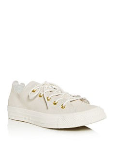 Converse - Women's Chuck Taylor All Star Scalloped Low-Top Sneakers