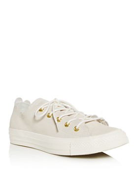 404d578dff21 Converse - Women s Chuck Taylor All Star Scalloped Low-Top Sneakers ...