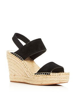 Kenneth Cole - Women's Olivia Wedge Slingback Espadrille Sandals