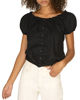 Sanctuary - Off-the-Shoulder Ruffle Top