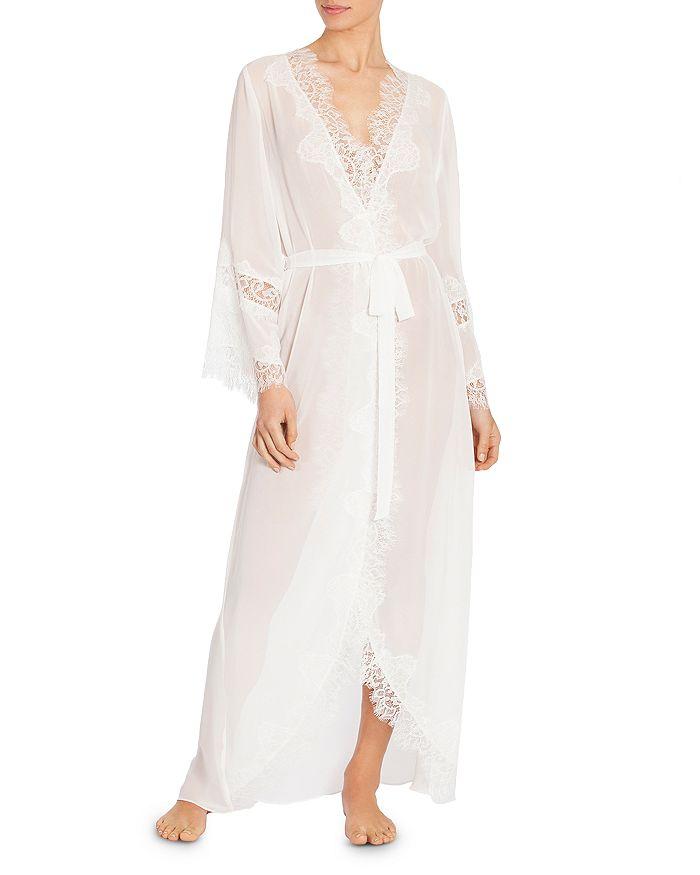 Jonquil - Chiffon Lace-Trim Robe