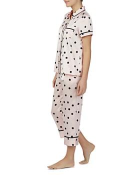 kate spade new york - Charm Polka-Dot Pajama Set