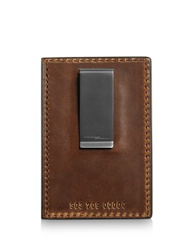 Shinola - Navigator Leather Money-Clip Card Wallet