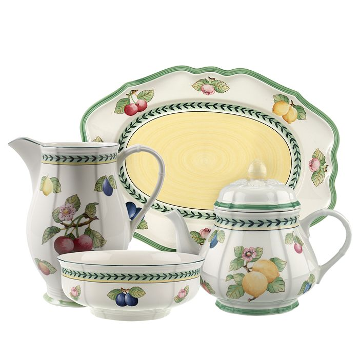 Villeroy & Boch - French Garden Fleurence Serveware Collection