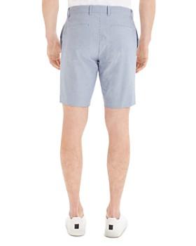 Theory - Zaine Oxford Striped Slim Fit Shorts