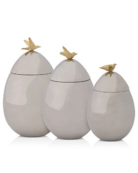 Michael Aram - Dove Canisters
