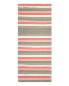 AQUA - Striped Oblong Scarf - 100% Exclusive