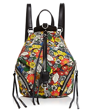 Rebecca Minkoff Julian Mini Floral Canvas Backpack