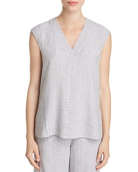 NIC and ZOE - Central Park Sleeveless Striped Top