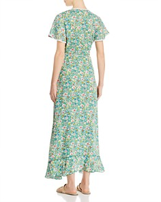 Poupette St. Barth - Joe Floral Wrap Dress
