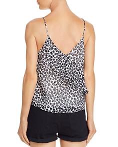 AQUA - Ruffled Leopard Print Camisole - 100% Exclusive