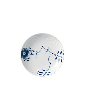 "Royal Copenhagen - Blue Fluted Mega 7.75"" Shallow Bowl"