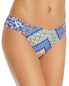 Nanette Lepore - Scarf Patchwork Siren Bikini Bottom