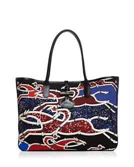Longchamp - Gallop Embellished Shoulder Tote