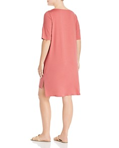 Eileen Fisher Plus - High/Low Tee Dress