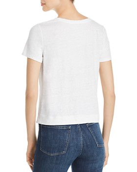 Eileen Fisher - Organic Linen Cropped Tee