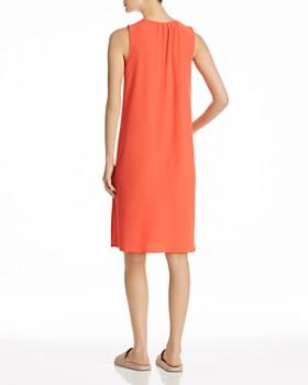 ff5b25b573 Eileen Fisher - Shirred Keyhole Dress Eileen Fisher - Shirred Keyhole Dress