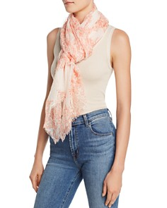 Eileen Fisher - Printed Organic Cotton Scarf