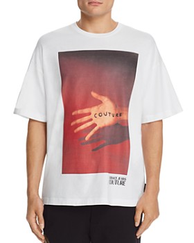 Versace Jeans Couture - Hand-Logo Graphic Tee