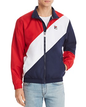FILA - Cruz Color-Block Windbreaker Jacket