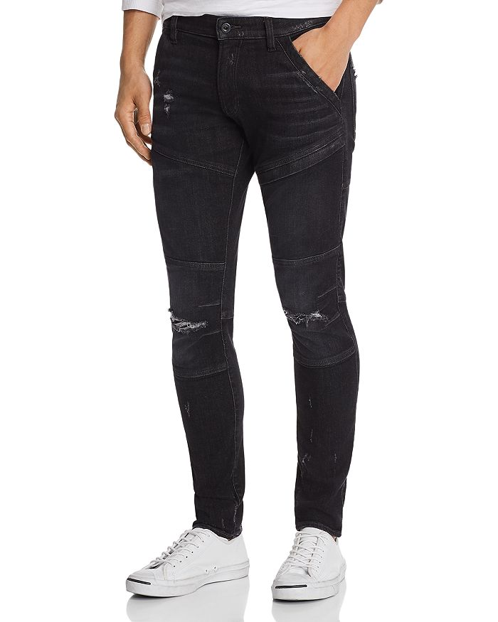 G-STAR RAW - 5620 3D Slim Fit Jeans in Ultra Light Aged