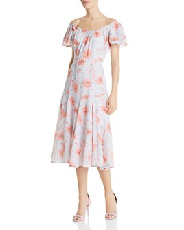 Rebecca Taylor - Louise Floral Midi Dress